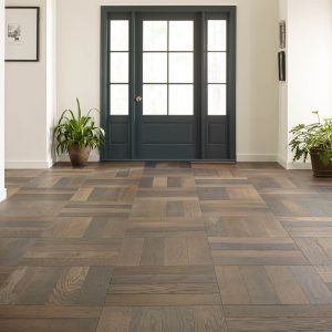 Old World Herringbone Hardwood flooring | The Floor Fashion Centre