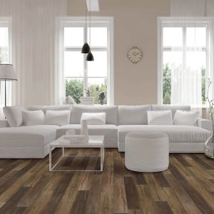 Vinyl flooring in living room | The Floor Fashion Centre
