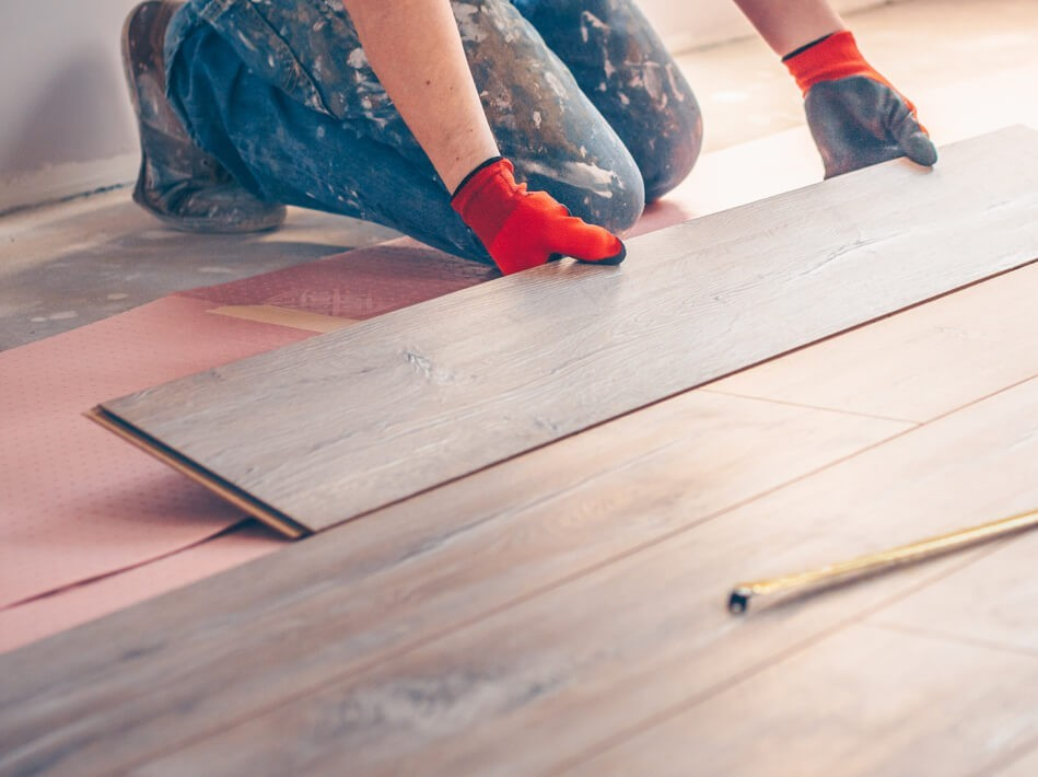 Hardwood Floor installation | The Floor Fashion Centre