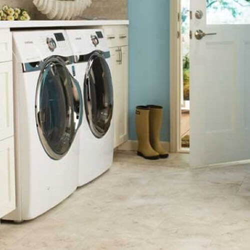 Tile laundry room | The Floor Fashion Centre