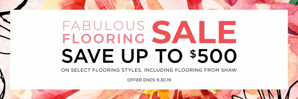Fabulous flooring sale | The Floor Fashion Centre