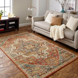 Area Rug in living room | The Floor Fashion Centre