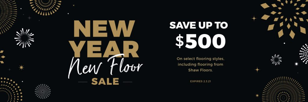 New Year New Floors Sale | The Floor Fashion Centre